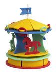Toy carousel — ストック写真
