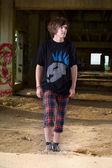 Gente punk — Foto Stock