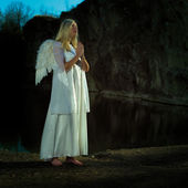 Angels on Earth — Stock Photo