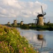 View of the mill and the river — Stock Photo #30737959