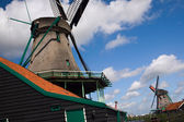 Netherlands - wind mills — Stock Photo