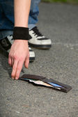 Man found someone else's wallet — Photo