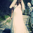Stock Photo: Bride outdoor
