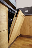 Moderne keuken interieur — Stockfoto