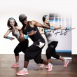 Nice trio working out — Stock Photo #35108889