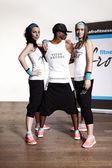 Good body fitness instructors — Stock Photo