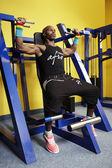 This man exercises daily — Stock Photo
