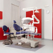 Interior of a dantist consulting room — Stock Photo