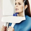 Woman taking radiography care — Stock Photo #35115005