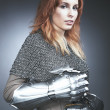 Like Joan of Arc — Stock Photo #48563185