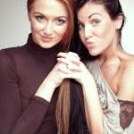 Lovely ladies — Stock Photo #48568699
