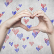 Stock Photo: Love and heart