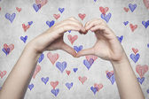 Sharing your love — Stock Photo