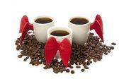 Coffee angel cup — Stock Photo