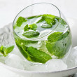 Fresh mint drink with ice — Stock Photo #24480317