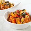 Traditional vegetable ratatouille — Stock Photo