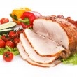 Cold boiled pork — Stock Photo
