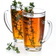 Tea thymus - Stock Photo