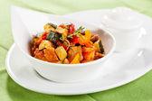 Traditional vegetable ratatouille — Stock Photo