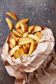 "Patata frita ""de estilo rural"" — Foto de Stock"