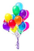 多色气球 — 图库照片