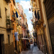 Stock Photo: Narrow street in Old town