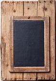 Vintage slate chalk board — Stock Photo