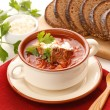 Ukrainiand russinational borsch — Stock Photo #34721939
