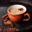 Indian masala tea — Stock Photo