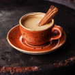 Espresso coffee cup with spices — Stock Photo #35172855