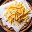 Salted french fries  — 图库照片