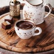 Hot chocolate with spices — Stock Photo #35853167