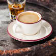Coffee laced with brandy  — Foto Stock