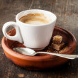 Cup of espresso coffee — Stock Photo #36180691