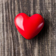 Red heart on Valentine's Day — Stockfoto