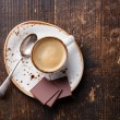 Espresso cup with chocolate — Stock Photo #39619127