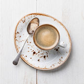Espresso cup — Stock Photo