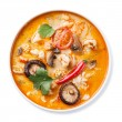Spicy Thai soup Tom Yam — Stock Photo #41094019