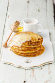Small pancakes — Stock Photo