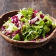 Fresh salad leaves mix — Stock Photo