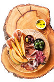 Antipasto ham — Stock Photo