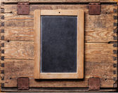 Vintage chalk board — Foto de Stock