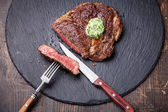 Grilled Beef steak — ストック写真