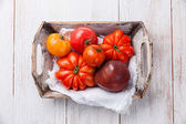 Ripe fresh tomatoes — Stock Photo
