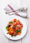 Tomatoes salad — Stock Photo
