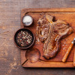 Grilled T-Bone Steak — Stock Photo #50000119