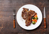 Grilled T-Bone Steak — Stock fotografie