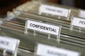 Confidential file — Stock Photo