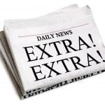 Daily newspaper — Stock Photo #24507499