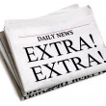 Daily newspaper — Stock Photo